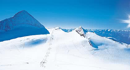 the Hintertux Glacier as a hidden paradise in every season