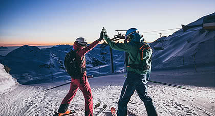 skiing pleasure for two in the Zillertal on vacation in the STOCK resort